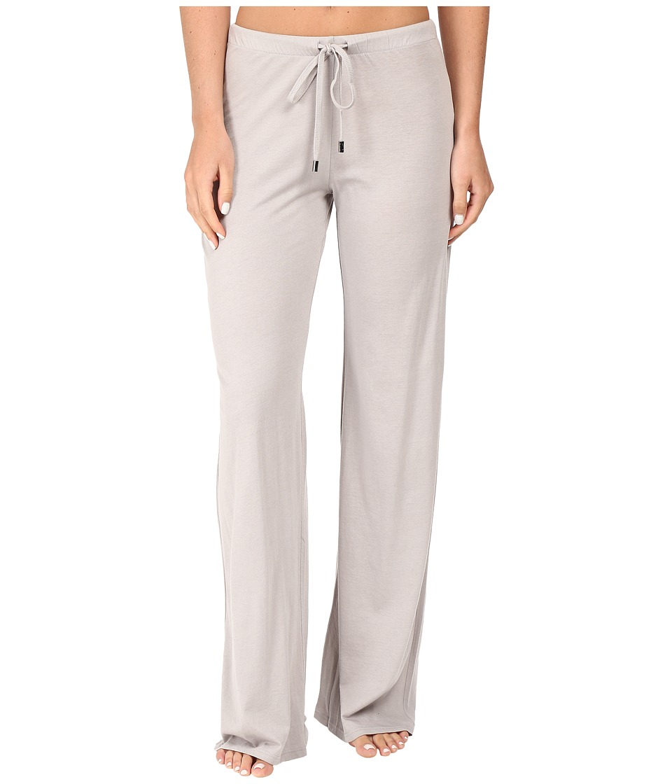 Yummie by Heather Thomson - Pima Jersey Wide Leg Pants (Opal Grey) Women's Casual Pants