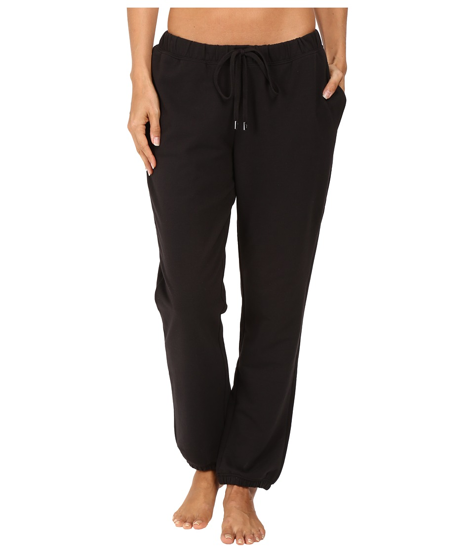 Yummie by Heather Thomson - French Terry Vintage Sweatpants (Black) Women's Casual Pants