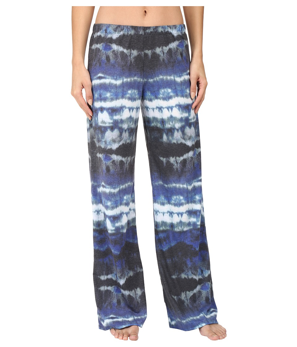 Yummie by Heather Thomson - Pima Jersey Wide Leg Pants (Watercolor Print) Women's Casual Pants