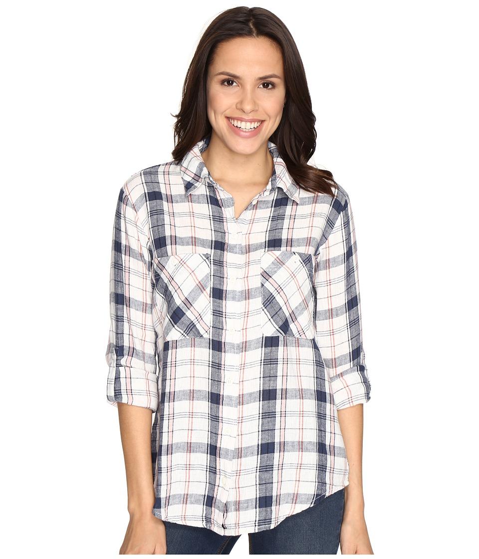 Sanctuary - The Steady Boyfriend Shirt (Mazzie Plaid) Women's Clothing