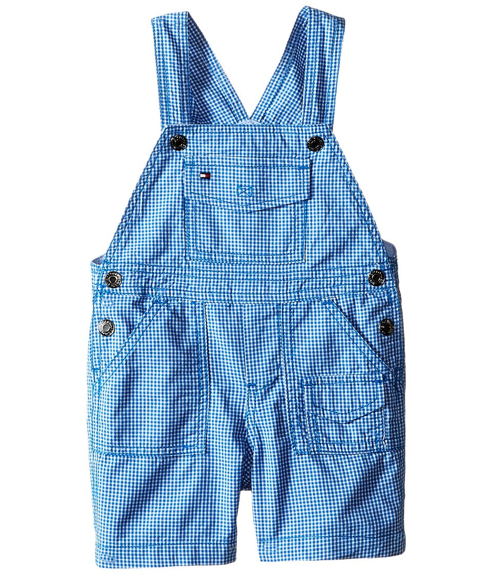 Tommy Hilfiger Kids - Gavin Twill Shortall (Infant) (Royal) Boy's Jumpsuit & Rompers One Piece