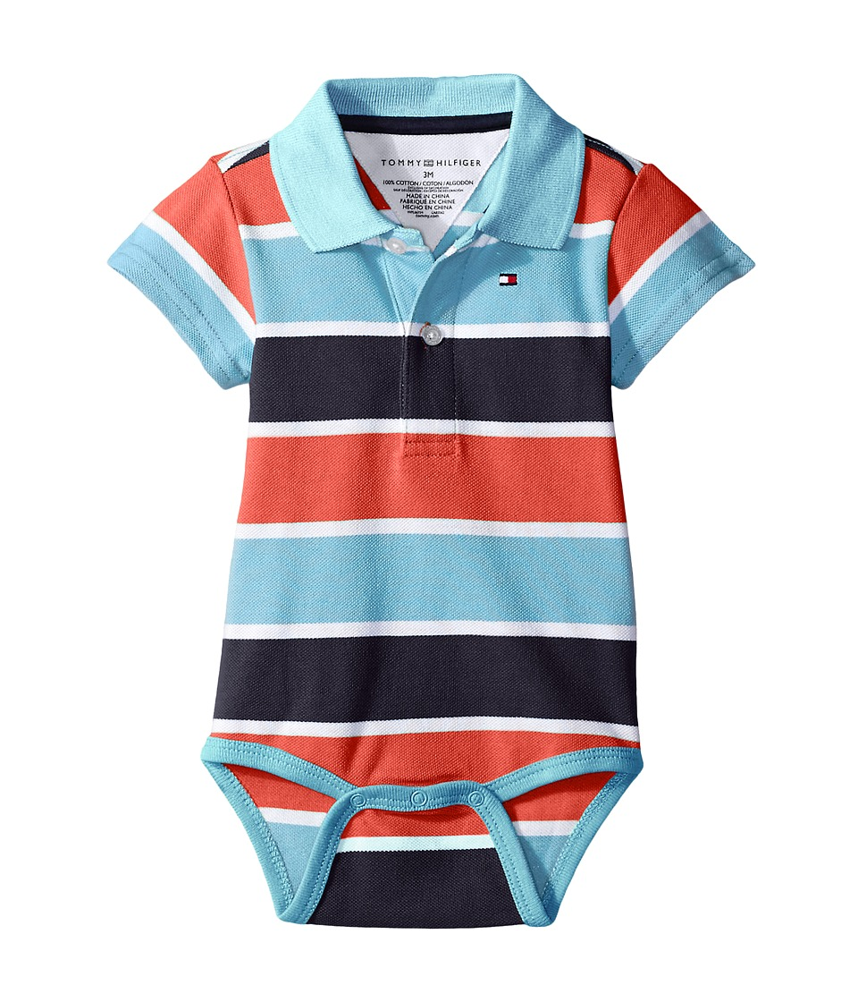Tommy Hilfiger Kids - Shaun Bodysuit (Infant) (Swim Navy) Boy's Jumpsuit & Rompers One Piece