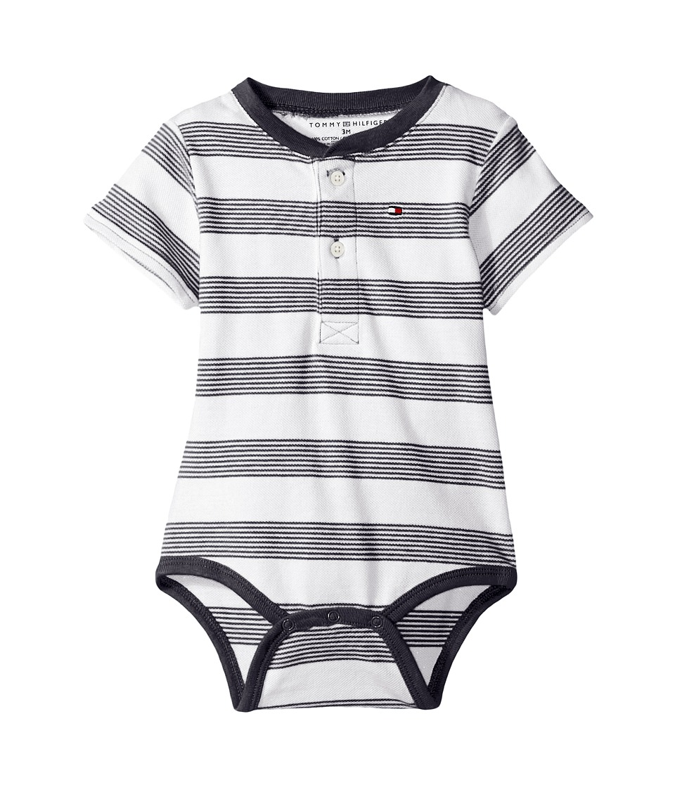 Tommy Hilfiger Kids - Walli Bodysuit (Infant) (Swim Navy) Boy's Jumpsuit & Rompers One Piece