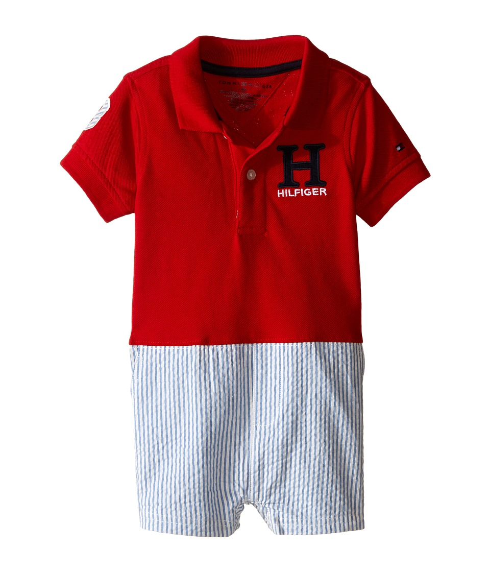 Tommy Hilfiger Kids - Matt Romper (Infant) (Regatta Blue) Boy's Jumpsuit & Rompers One Piece