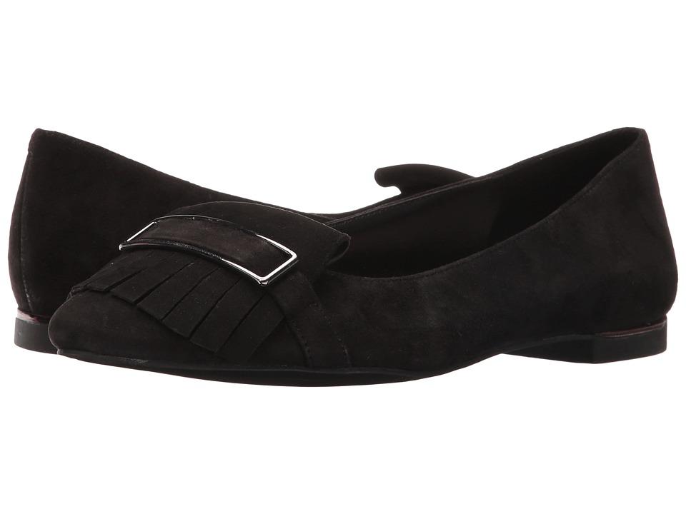 Jones New York - Steff (Black Kid Suede) Women's Flat Shoes