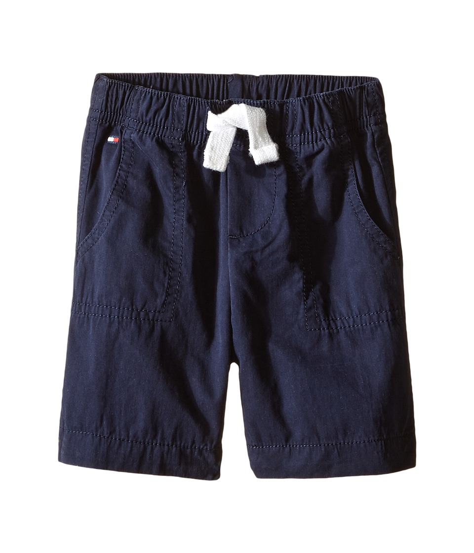 Tommy Hilfiger Kids - Porkchop Pocket Jogger Shorts (Infant) (Swim Navy) Boy's Shorts