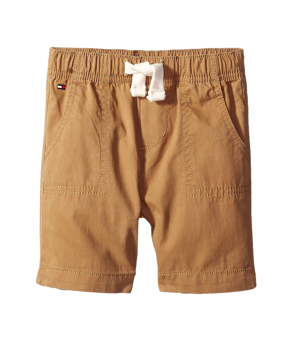 Tommy Hilfiger Kids - Porkchop Pocket Jogger Shorts (Infant) (TH Chino) Boy's Shorts