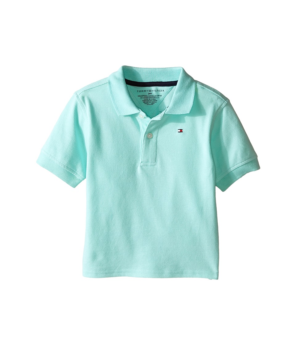 Tommy Hilfiger Kids - Ivy Polo (Infant) (Yucca Mint) Boy's Clothing
