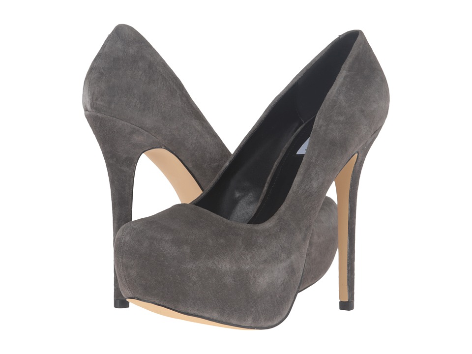 Steve Madden - Nala (Grey Suede) Women's Shoes