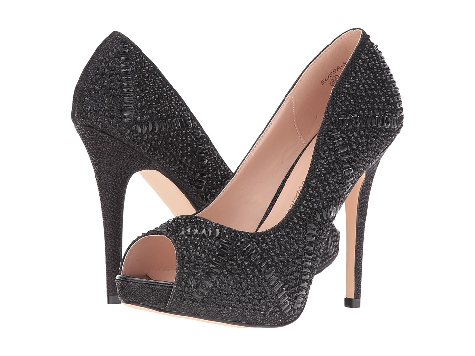 Lauren Lorraine - Elissa 3 (Black) High Heels