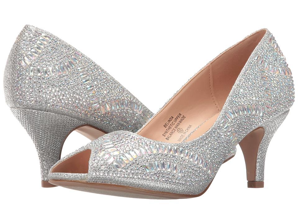 Lauren Lorraine - Belinda (Silver) Women's 1-2 inch heel Shoes