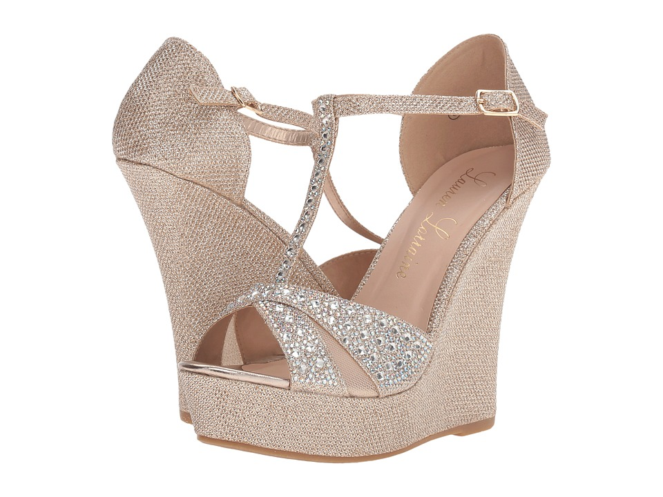 Lauren Lorraine - Ness (Nude) Women's Wedge Shoes