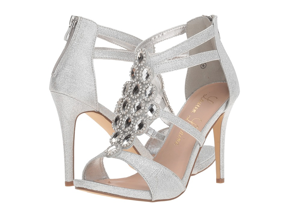 Lauren Lorraine - Maria (Silver) High Heels