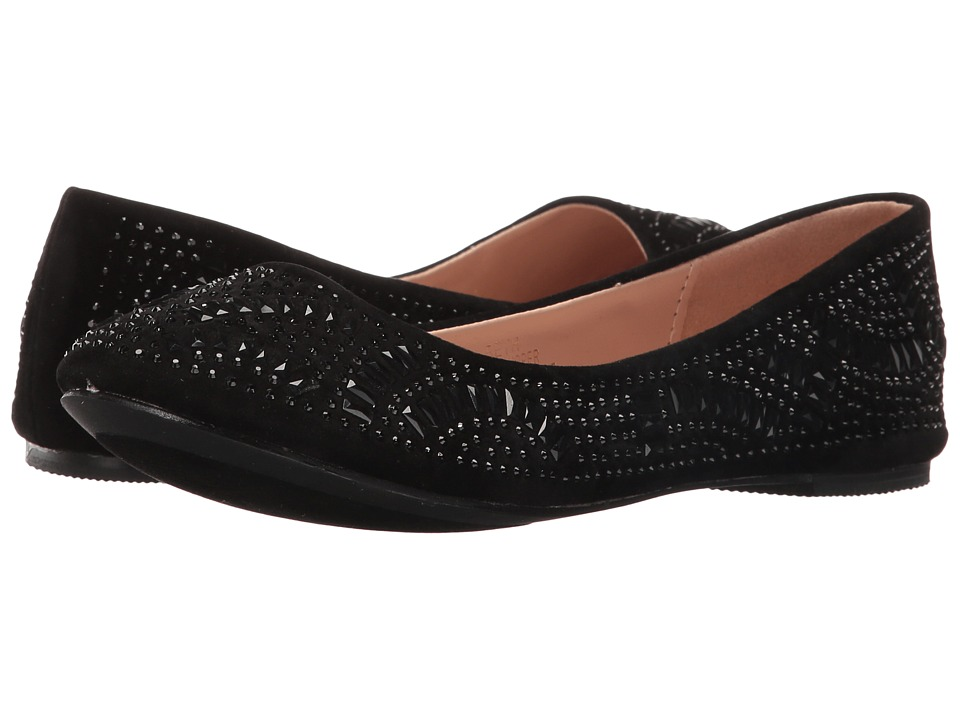 Lauren Lorraine - Beth (Black) Women's Flat Shoes