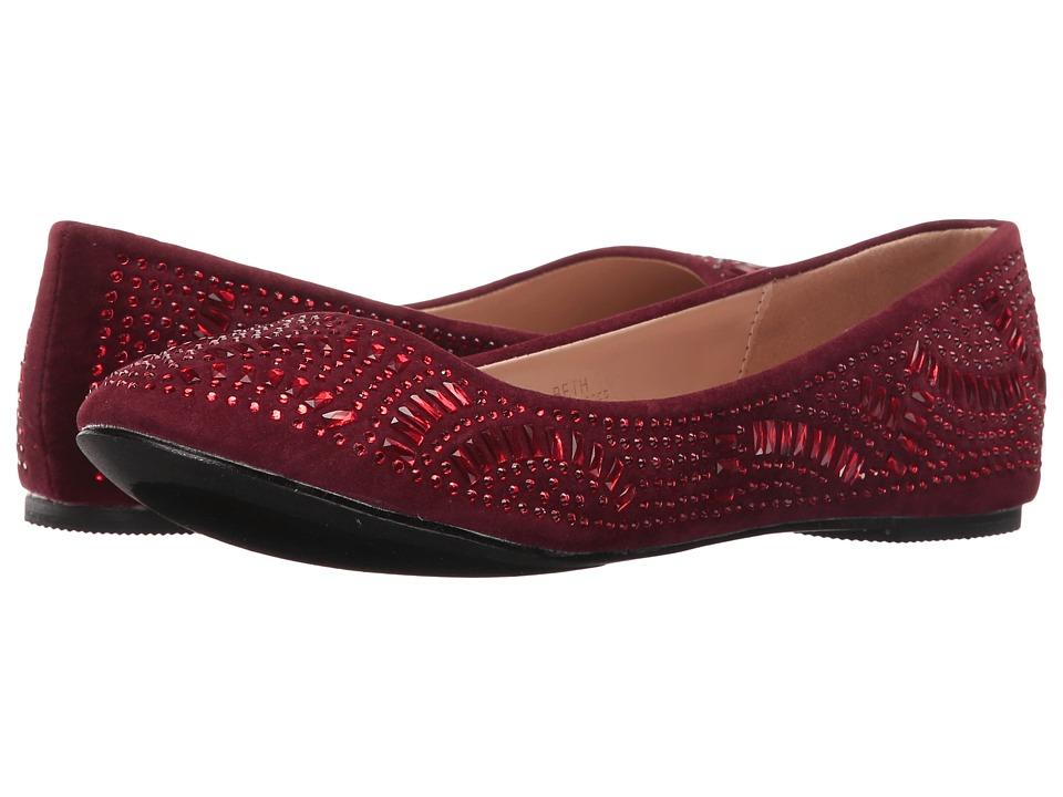 Lauren Lorraine - Beth (Red) Women's Flat Shoes