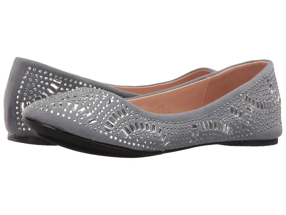 Lauren Lorraine - Beth (Silver) Women's Flat Shoes
