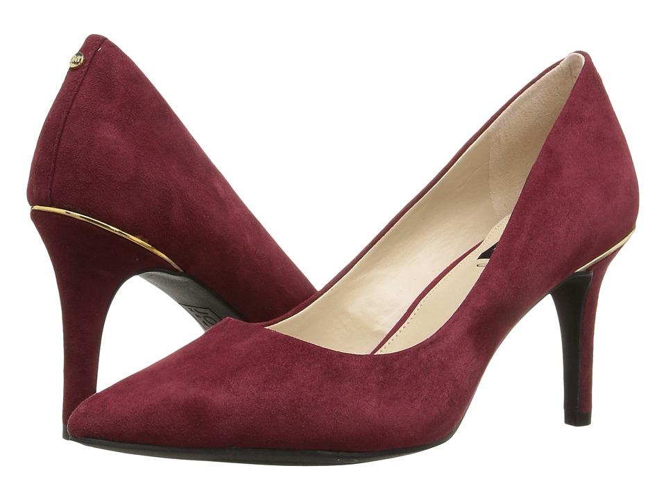 Jones New York - Delta (Burgundy Kid Suede) Women's Shoes