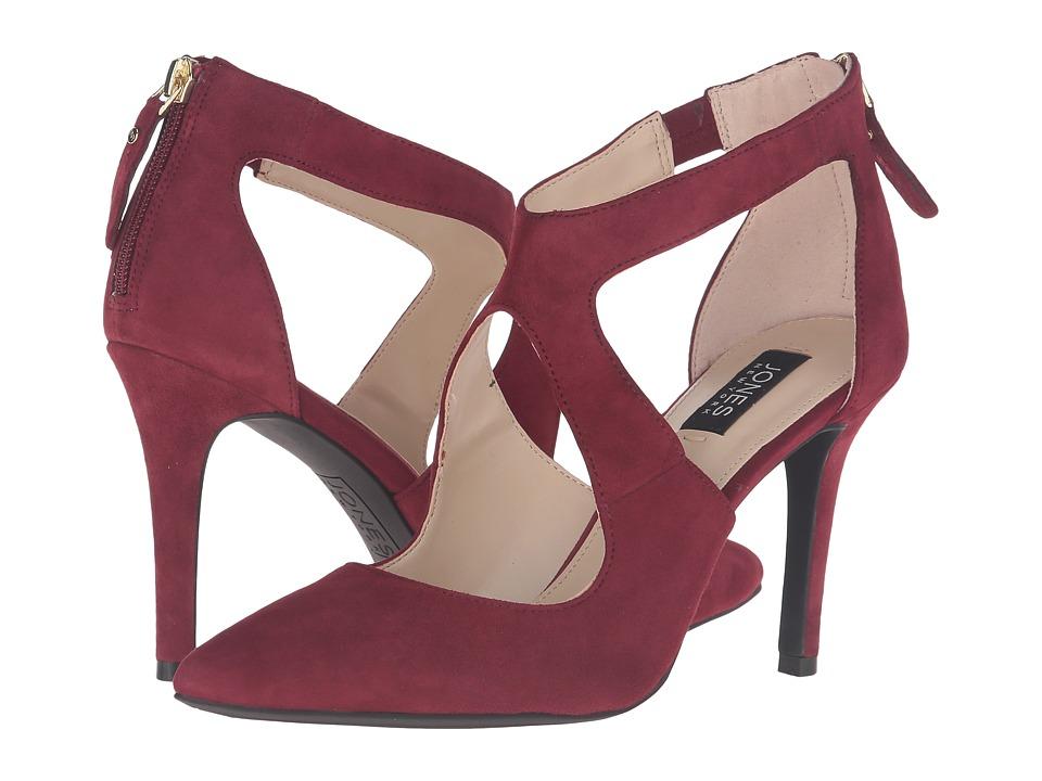 Jones New York - Christie (Burgundy Kid Suede) Women's Shoes
