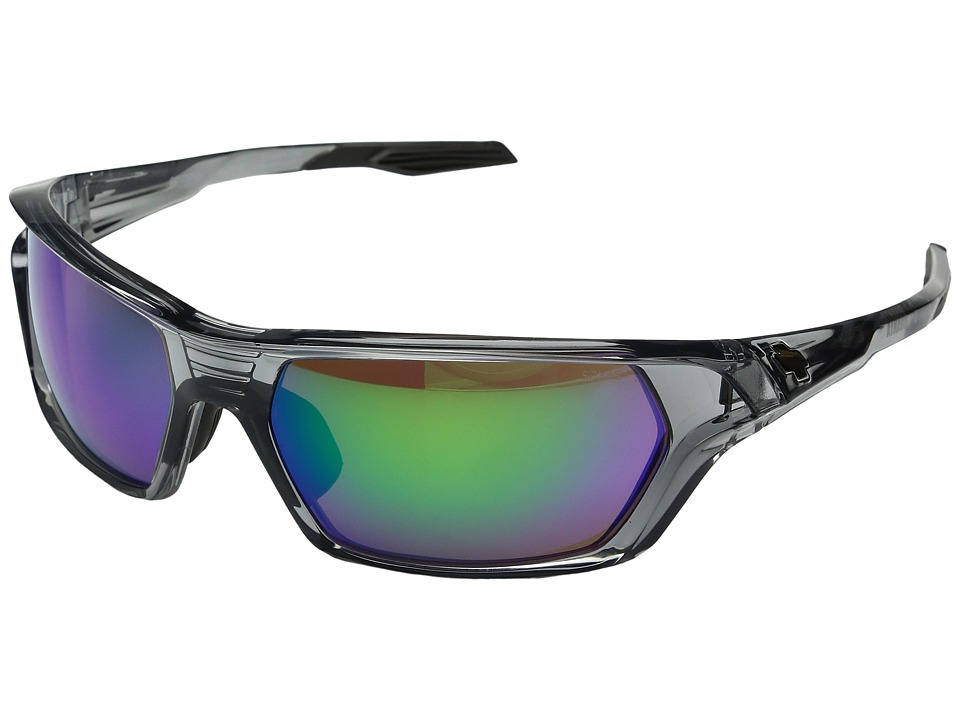 Spy Optic - Quanta (Clear Smoke Ansi Rx Kiewit/Bronze w/ Green Spectra) Sport Sunglasses