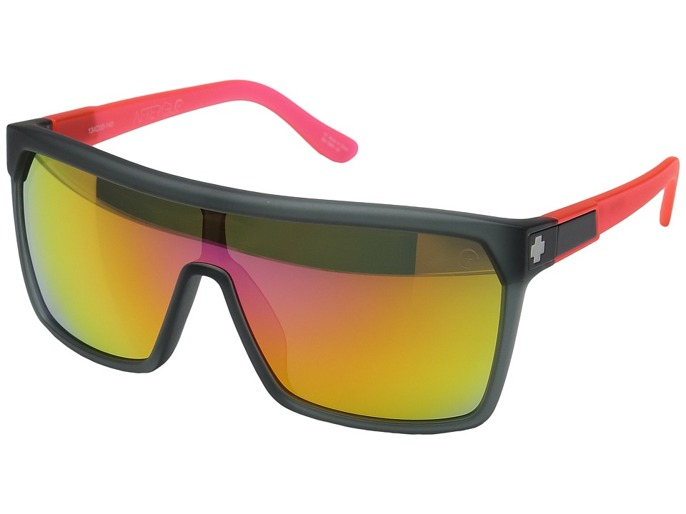 Spy Optic - Flynn (Ag Smu Cosmic Sunrise/Gray w/ Pink Spectra) Sport Sunglasses