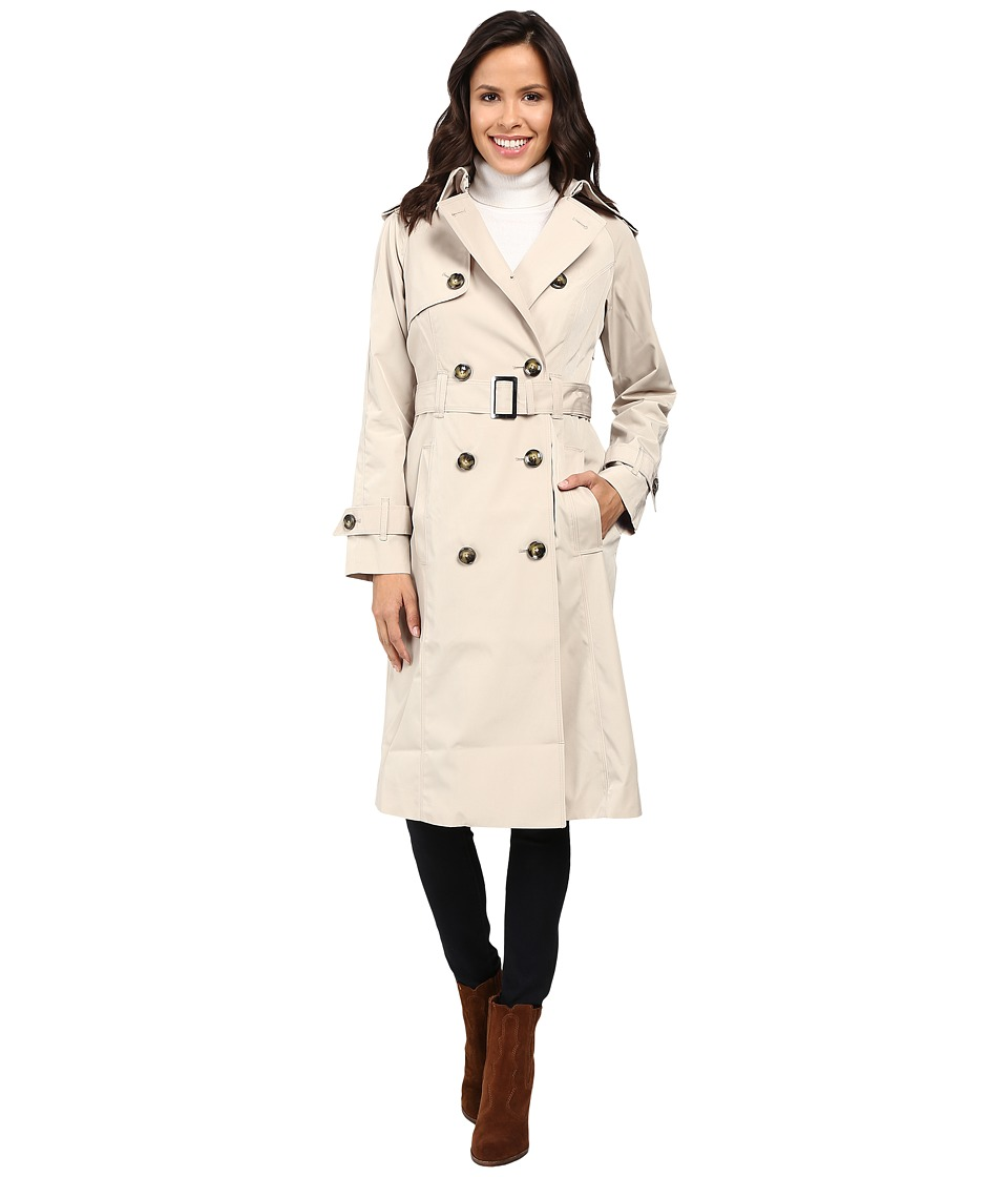 London Fog - Trench Coat (Stone) Women's Coat
