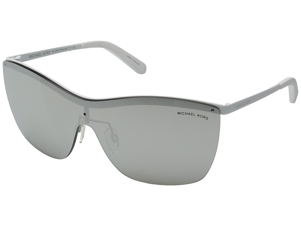 Michael Kors - 0MK5005 (White Soft Touch) Fashion Sunglasses