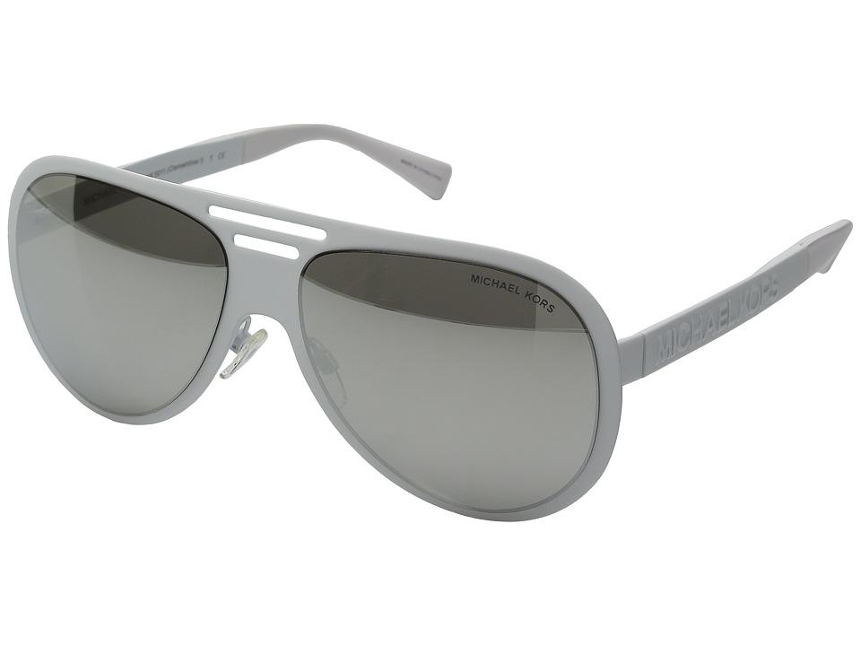 Michael Kors - 0MK5011 (White Soft Touch) Fashion Sunglasses