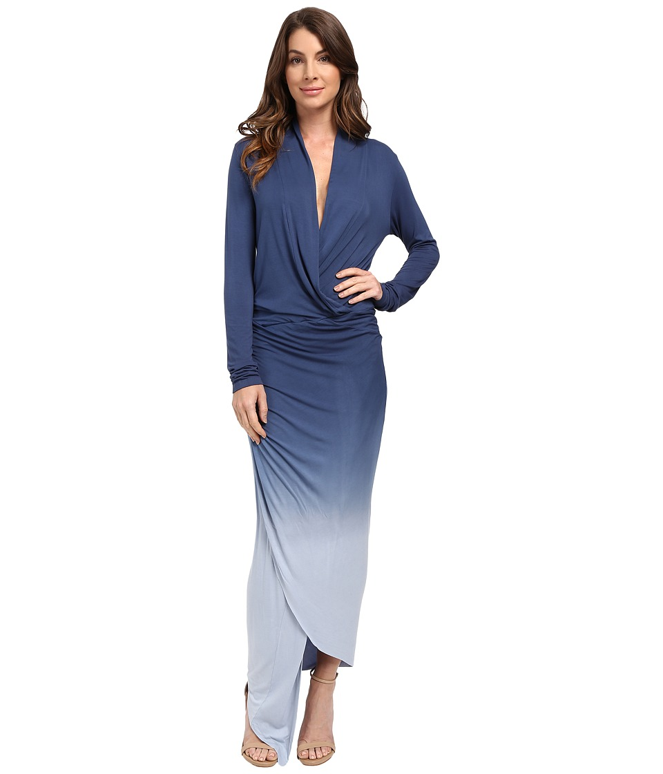 Young Fabulous & Broke - Brielle Maxi (Blue Ombre 1) Women's Dress