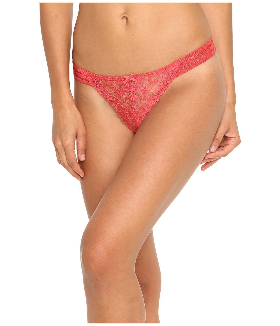 Stella McCartney - Isabel Floating Thong (Chrysanthemum) Women's Underwear