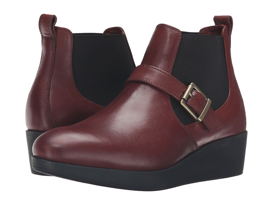 Johnston & Murphy - Danielle (Mahogany Waterproof) Women's Boots