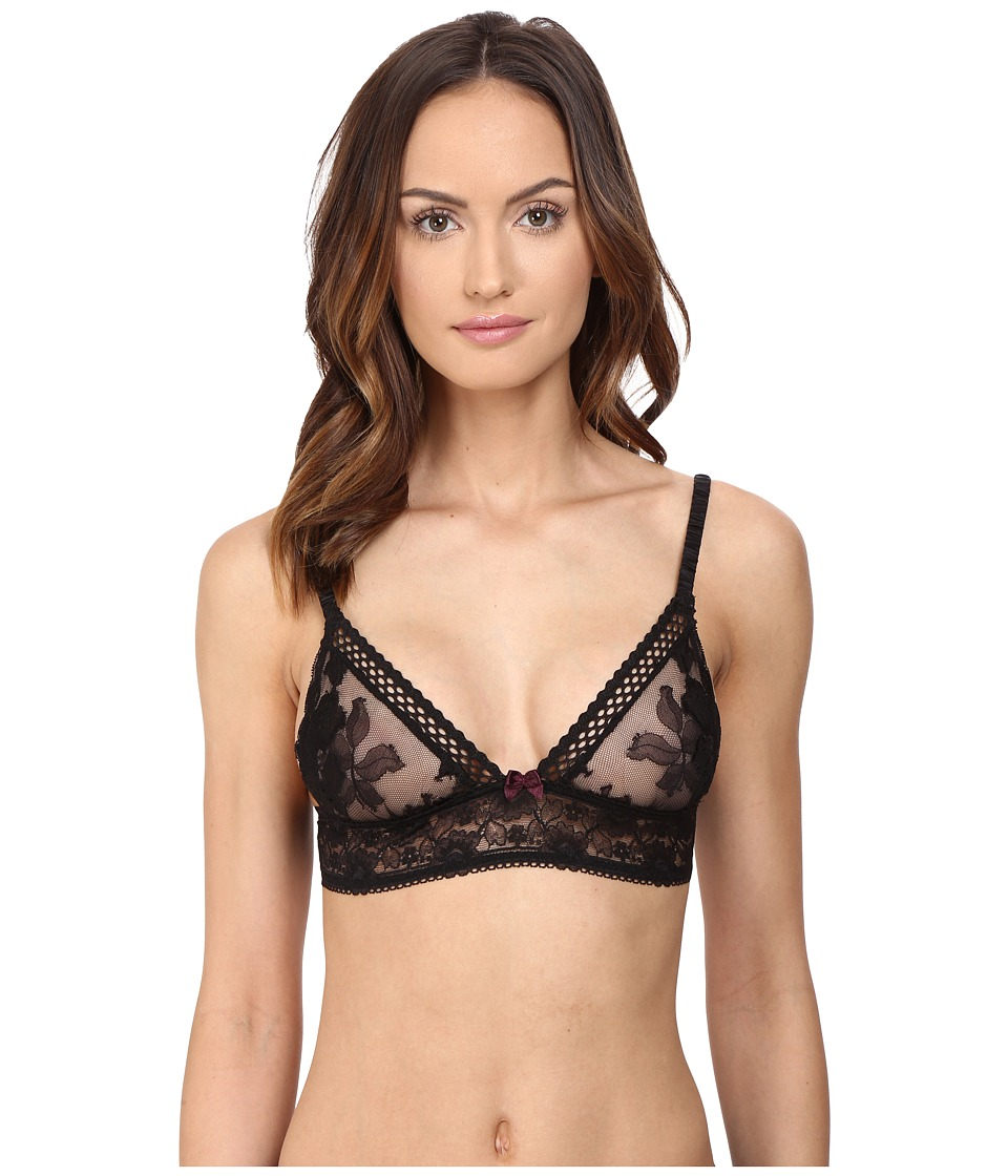Stella McCartney - Naomi Gliding Soft Cup S21-241 (Black) Women's Lingerie