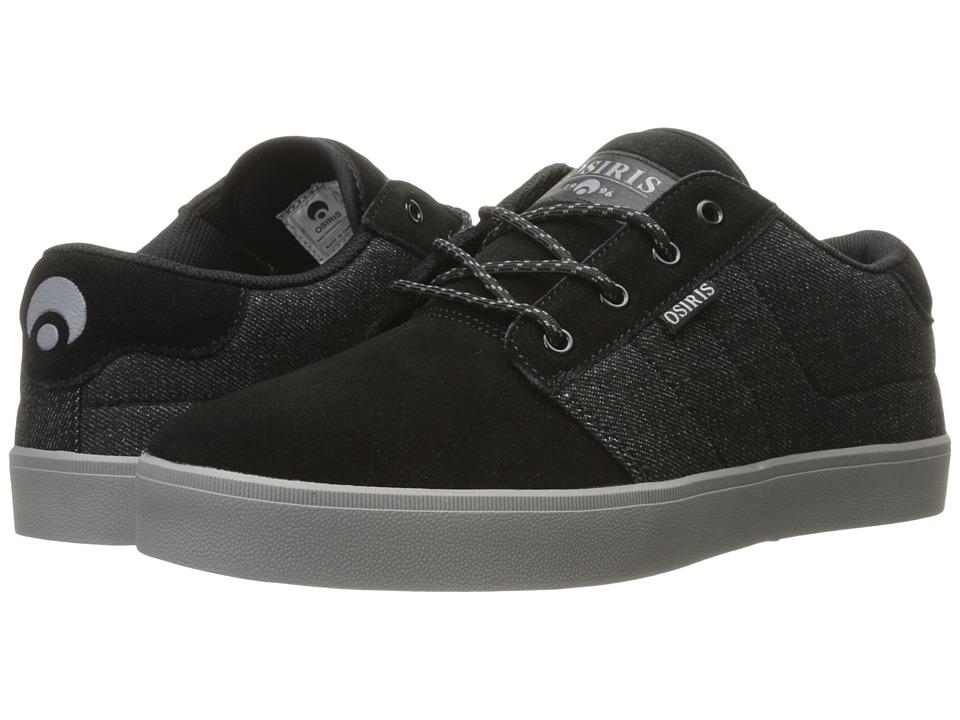 Osiris - Mesa (Black/Charcoal/Black) Men's Skate Shoes