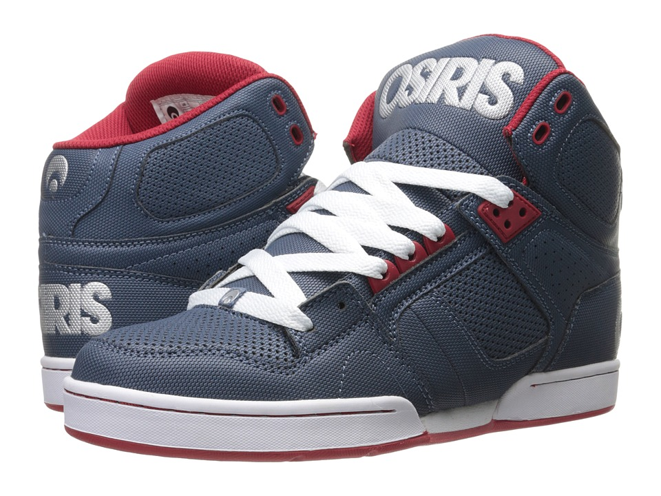 Osiris - NYC83 (Blue/Red/Silver) Men's Skate Shoes