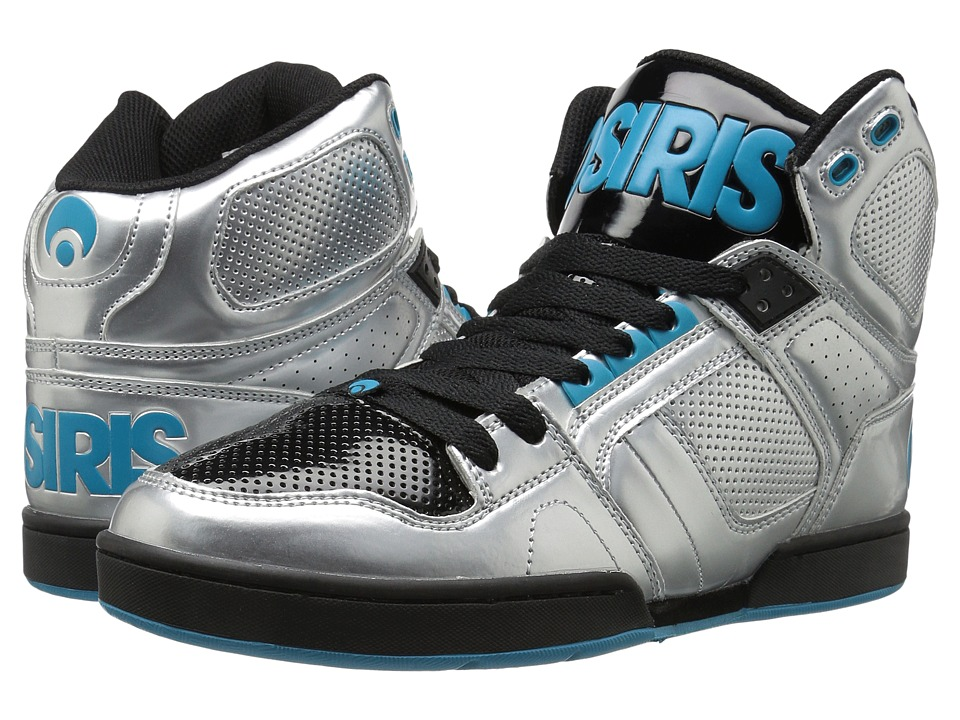Osiris - NYC83 (Silver/Cyan/Black) Men's Skate Shoes
