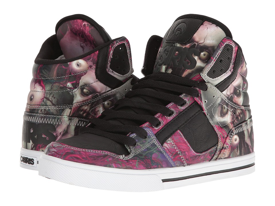 Osiris - Clone (Huit/Zombie) Men's Skate Shoes