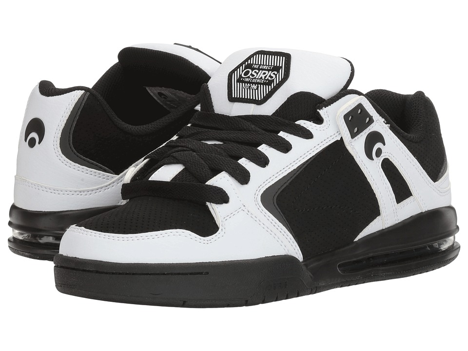 Osiris - PXL (White/Black/White) Men's Skate Shoes