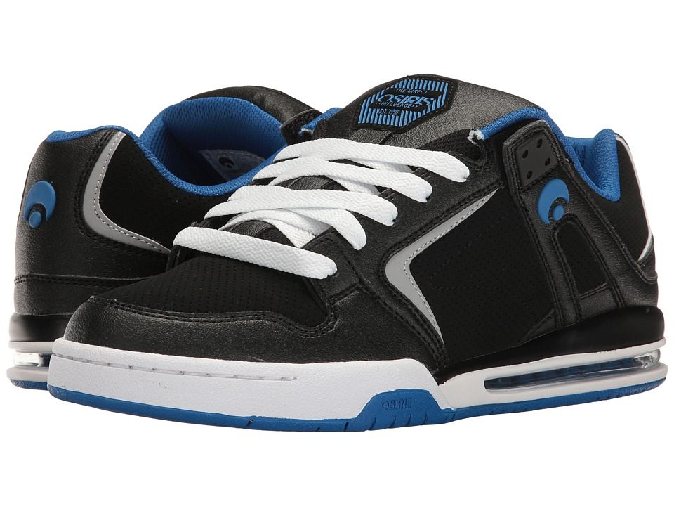 Osiris - PXL (Black/Royal/White) Men's Skate Shoes