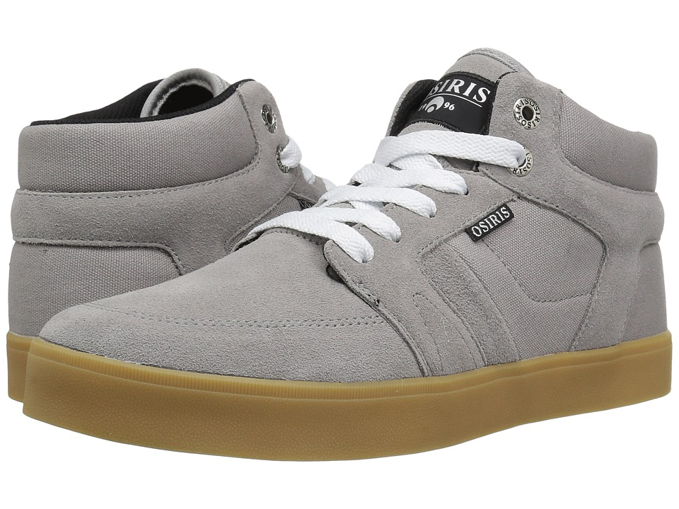 Osiris - Helix (Charcoal/Charcoal/Silver) Men's Skate Shoes