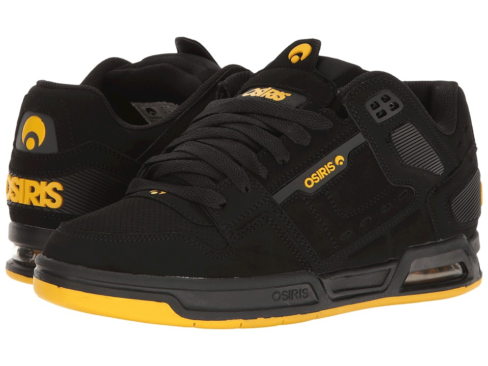Osiris Peril (Black/Yellow/Black) Men