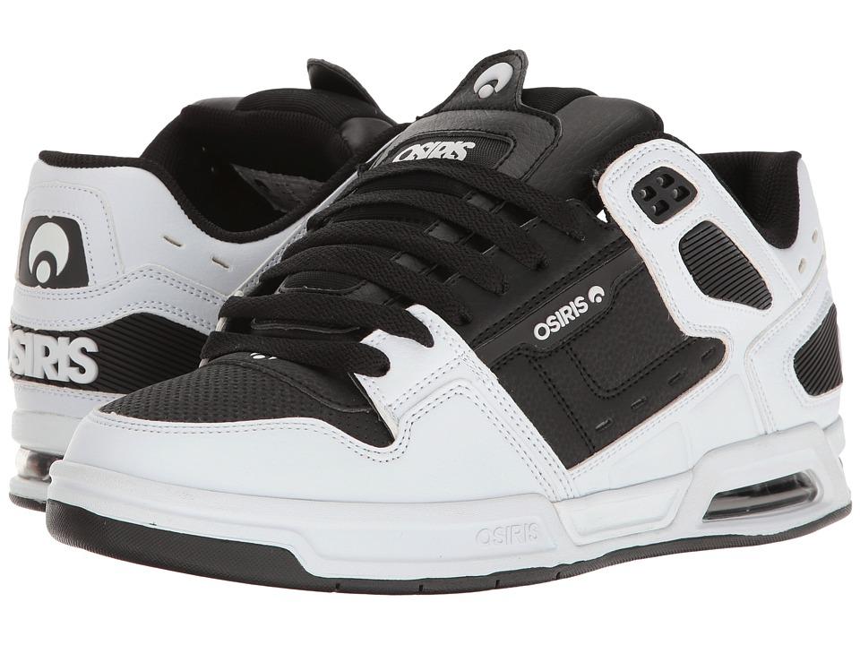 Osiris - Peril (White/Black/White) Men's Skate Shoes