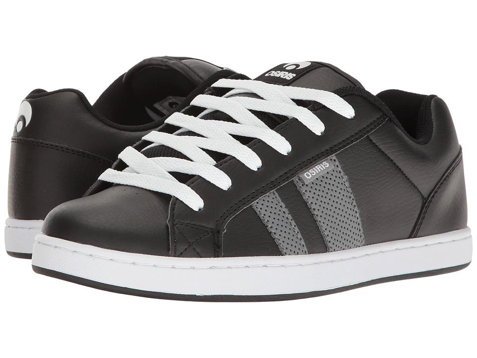 Osiris - Loot (Black/Grey/White) Men's Skate Shoes
