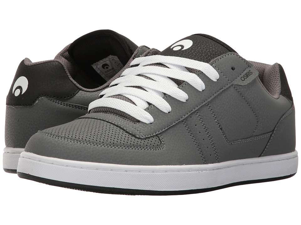 Osiris - Relic (Grey/Black/White) Men's Skate Shoes