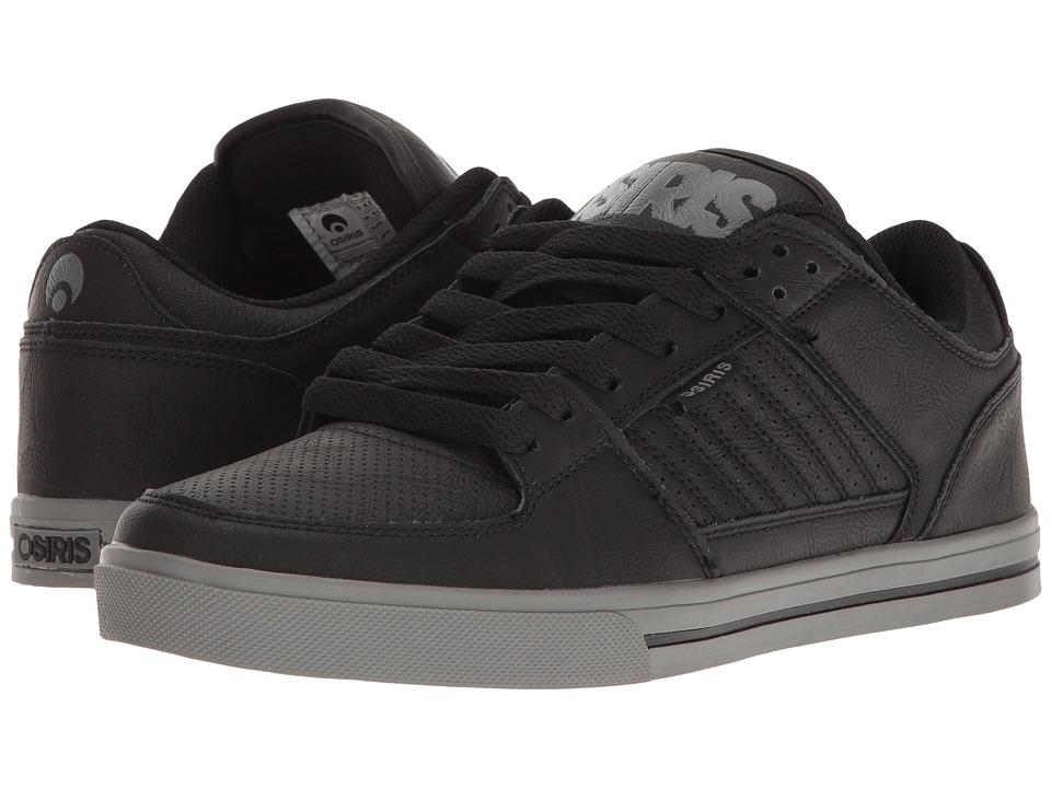 Osiris - Protocol (Black/Grey/Black) Men's Skate Shoes