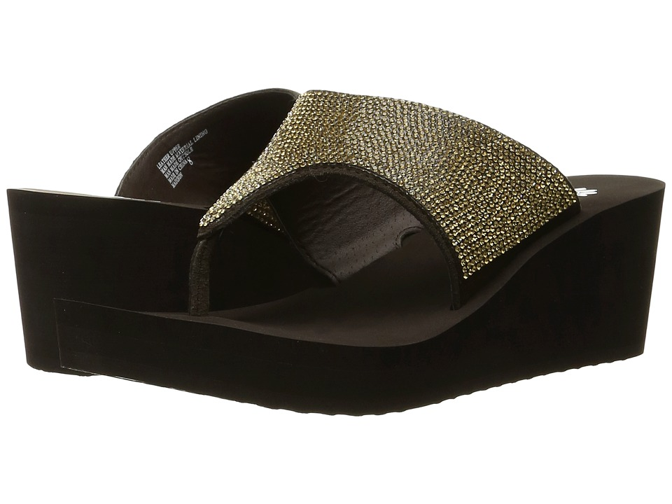 Yellow Box - Madison (Bronze) Women's Sandals