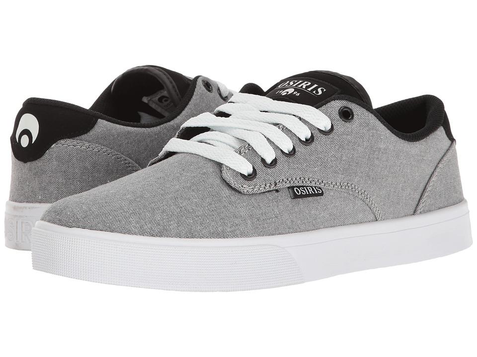 Osiris - Slappy VLC (Grey/Oxford) Men's Skate Shoes