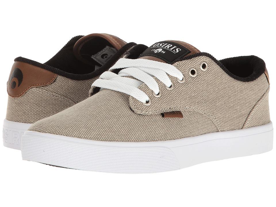 Osiris - Slappy VLC (Tan/White/Brown) Men's Skate Shoes