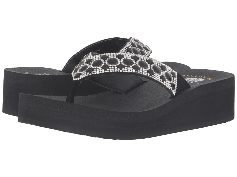 Yellow Box - Voice (Black) Women's Sandals