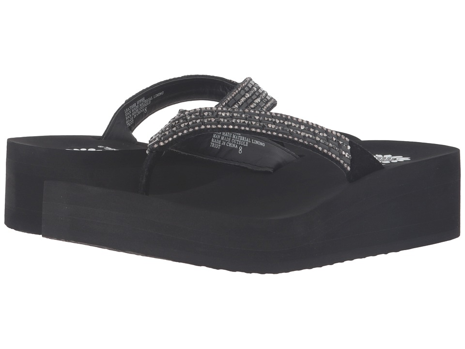 Yellow Box - Triot (Black) Women's Sandals