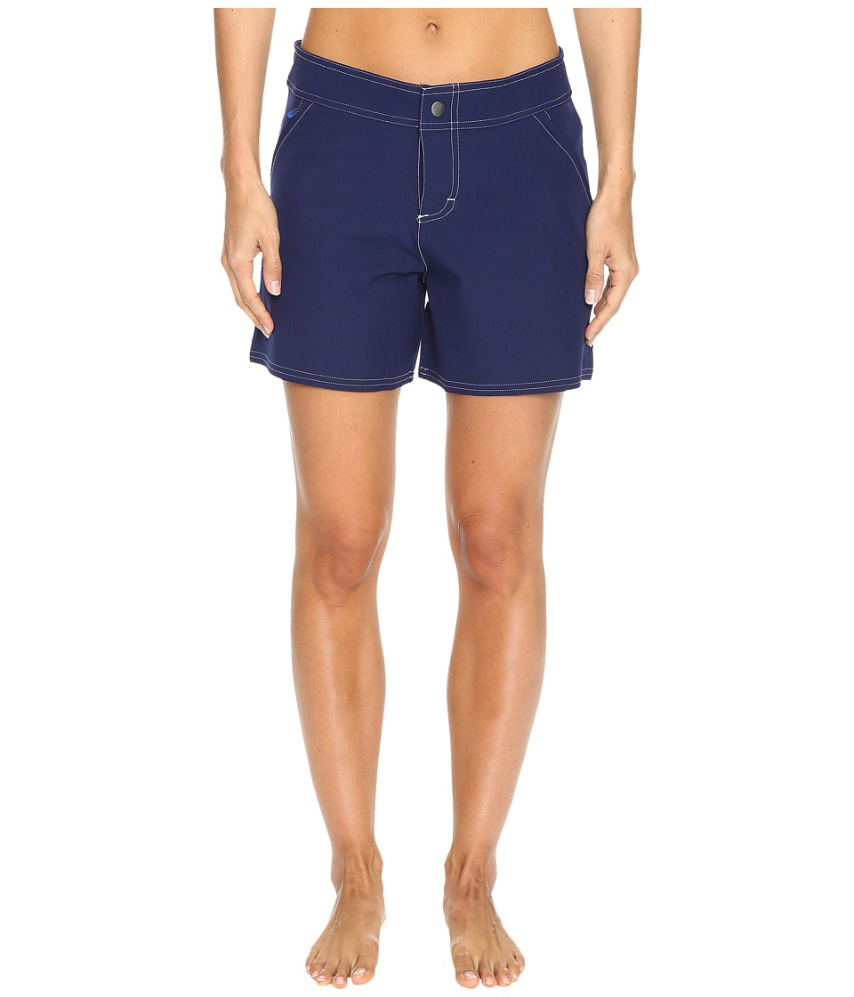 Tommy Bahama - Solid 5 Boardshort (Mare Navy) Women's Swimwear