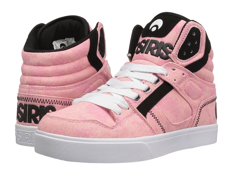 Osiris - Clone (Pink/Fatigues) Women's Skate Shoes